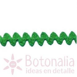 Cinta zig-zag verde B