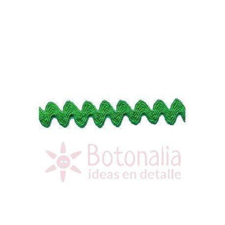 Zig-Zag Ribbon in green B