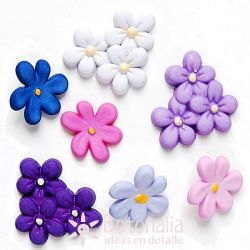 Violetas de Primavera - Flores y Ramilletes