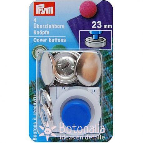 Botones para forrar de 23 mm
