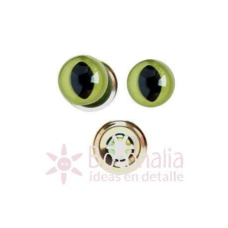 2 Cat eyes 12 mm