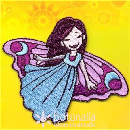 Little fairy (brunette) dancing.
