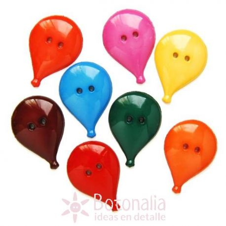 Balloons in many colors