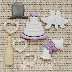 Just married - Embellishments
