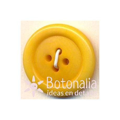 Classic round button in yellow