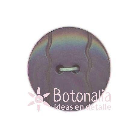 Circular violeta con lineas onduladas