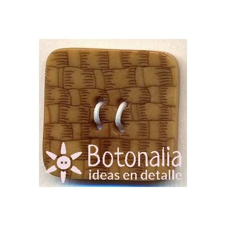 Braided design - Square button