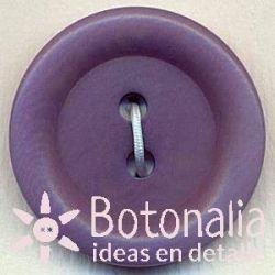 Classic round button in light purple