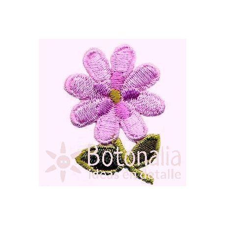 Flor violeta claro