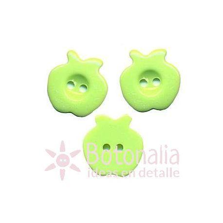 Apple in green.