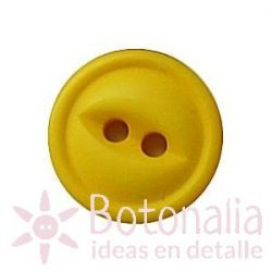 Button in yellow 12 mm