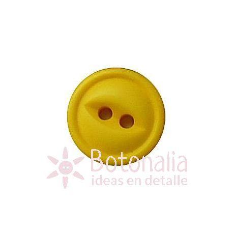 Botón amarillo 12 mm