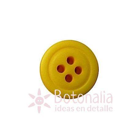 Botón amarillo 13 mm