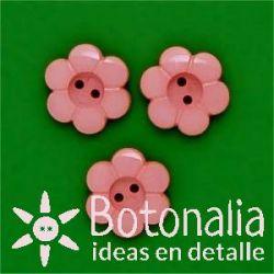 Little flower in pink 15 mm