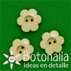 Little flower crema 15 mm