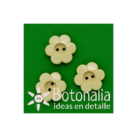 Little flower crema 15 mm