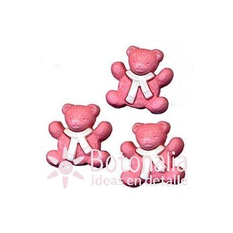 Osito rosa 16 mm