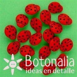 Dress-it-Up - Ladybugs de 12 mm