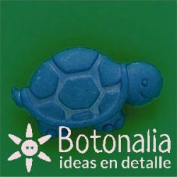 Turtle in blue.