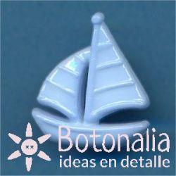 Sailboat in blue