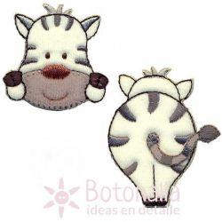 Zebra - Set of two stickers