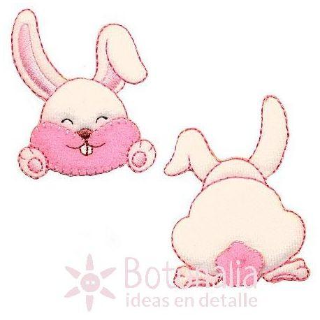 Conejo - Pegatina doble