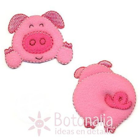Little pig - Set of two stickers