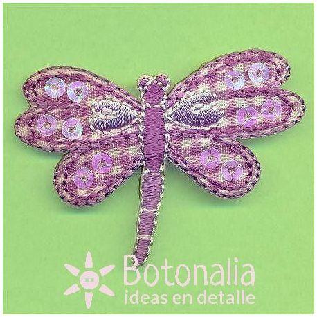 Libélula vichy violeta