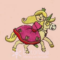 Princess and unicorn