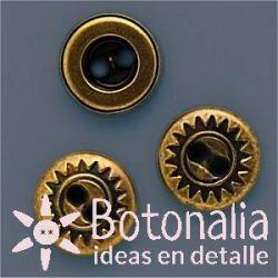 Botón dorado 11 mm