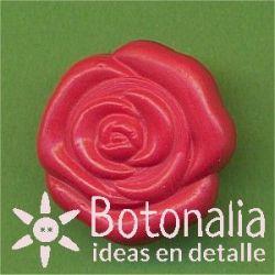 Rosa roja 15 mm