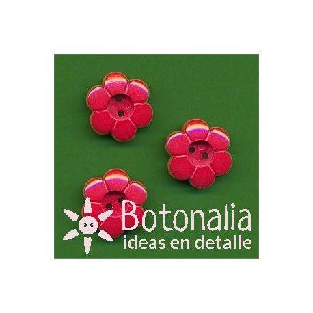 Florecita roja 15 mm