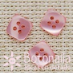 Cuadrado rosa 12 mm