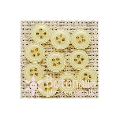 Circulares amarillos 10 mm