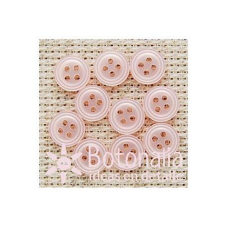 Round in pink 10 mm