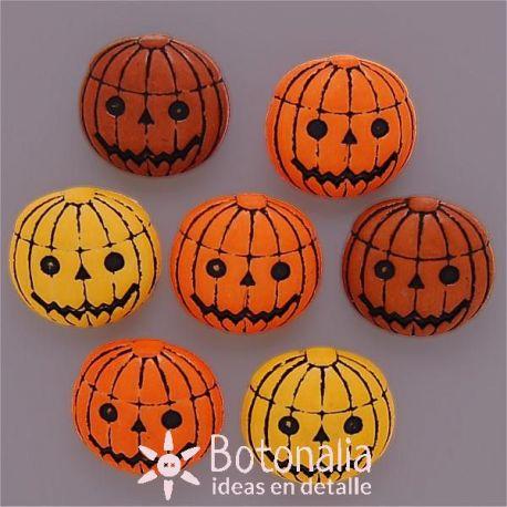 Halloween - pumpkins 23 mm