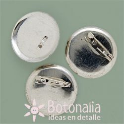Safety pins for brooch making with a base of 30 mm