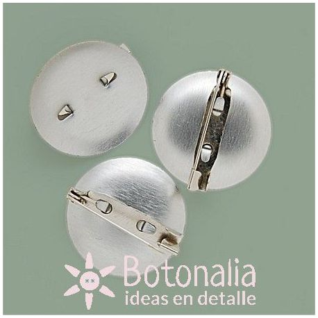 Safety pins for brooch making with a base of 24 mm
