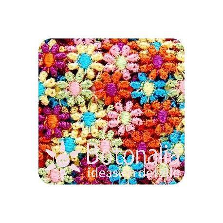 Cinta de guipur - Flores