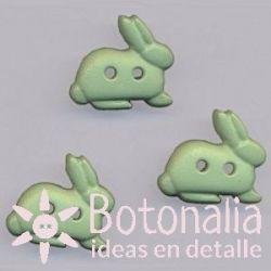 Rabbit in green 16 mm
