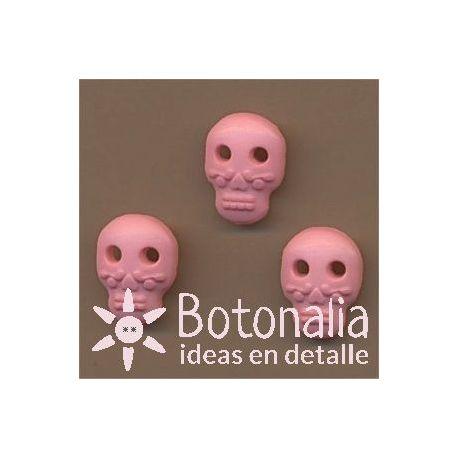 Skull in pink 14 mm