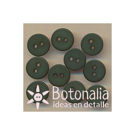 Circulares verdes 11 mm.
