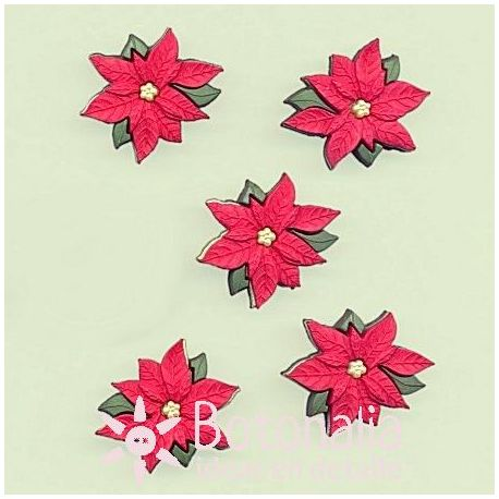 Dress-it-Up - Red Poinsettias