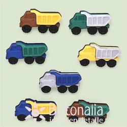 Dress-it-Up - Button Fun - Trucks