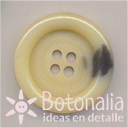 Circular beige 23 mm
