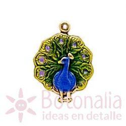 Embellishment peacock
