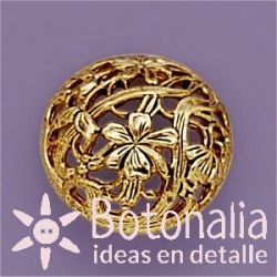 Decorated button 24 mm
