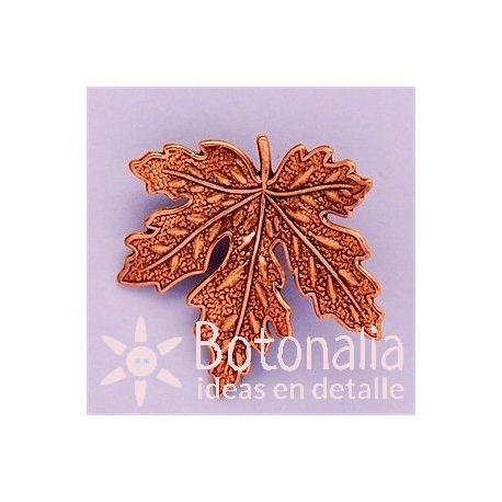 Button dry leaf 33 mm