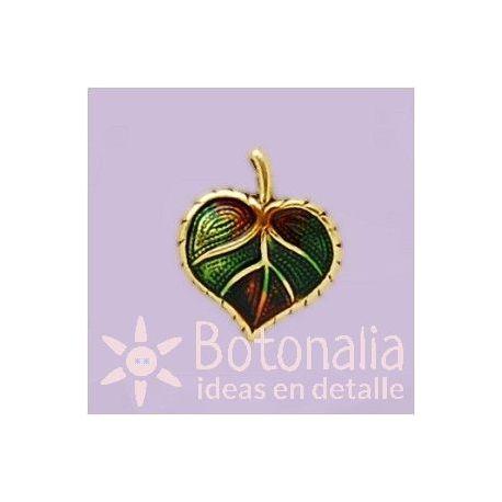 Button leaf 14 mm
