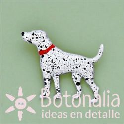 Button Dalmatian dog
